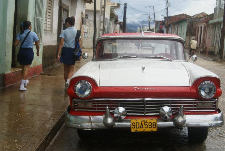 Školačky v Trinidadu