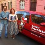 S ilustrátorem Lukášem Fibrichem