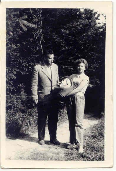 Jan Procházka s manželkou Mahulenou