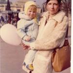 S dcerou Mariou na Matějské pouti