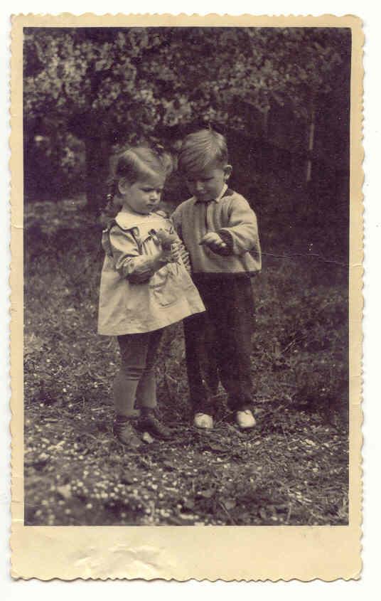 S dnes již neznámým chlapečkem v mateřské školce v Olomouci