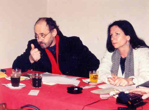 S Johnem Bokem na tiskové konferenci spolku Šalamoun