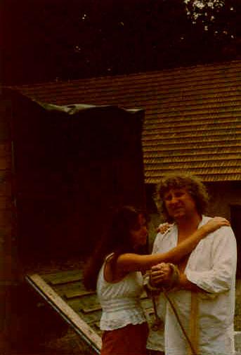 Se Zdeňkem Kotrlým během natáčení Frondy