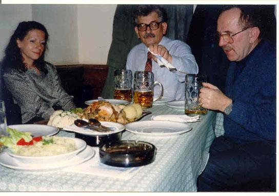 V Mnichově s Otou Filipem a Ludvíkem Vaculíkem