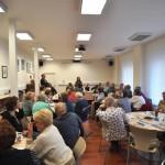 Veřejná debata kandidátů v domě seniorů